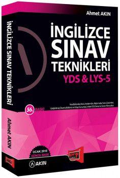 Yargı Yayınları 2018 YDS LYS 5 İngilizce Sınav Teknikleri 56. Baskı