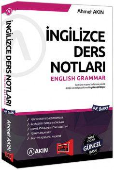 Yargı Yayınları 2018 YDS Grammar İngilizce Ders Notları 48. Baskı