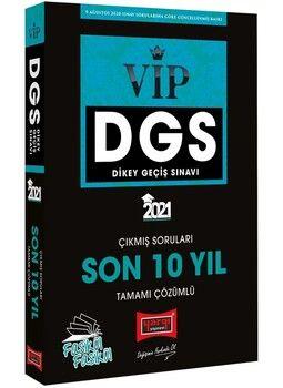 Yargı Yayınları 2021 DGS VIP Sayısal Sözel Yetenek Son 10 Yıl Tamamı Çözümlü Fasikül Çıkmış Sorular