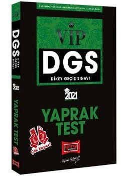 Yargı Yayınları 2021 DGS VIP Çek Kopart Yaprak Test