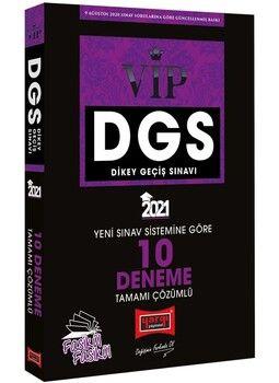 Yargı Yayınları 2021 DGS VIP Yeni Sınav Sistemine Göre Tamamı Çözümlü 10 Fasikül Deneme