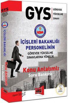 Yargı Yayınları GYS İçişleri Bakanlığı Personelinin Görevde Yükselme Sınavlarına Yönelik Konu Anlatımlı Soru Bankası