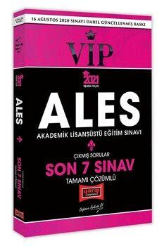 Yargı Yayınları 2021 ALES VIP Son 7 Sınav Tamamı Çözümlü Çıkmış Sorular