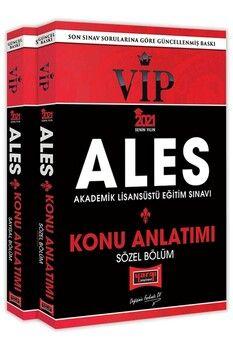 Yargı Yayınları 2021 ALES Sayısal Sözel Bölüm VIP Konu Kitabı Seti