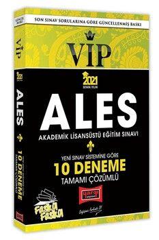 Yargı Yayınları 2021 ALES VIP Yeni Sınav Sistemine Göre Tamamı Çözümlü 10 Fasikül Deneme