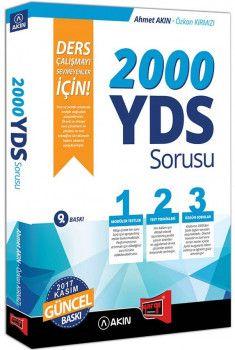 Yargı Yayınları 2000 YDS Sorusu Ders Çalışmayı Sevmeyenler İçin 9. Baskı