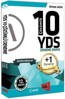 Yargı Yayınları YDS Özgün 10 +1 Çözümlü Deneme Sınavı 12. Baskı