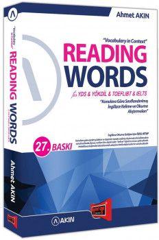 Yargı Yayınları YDS YÖKDİL TOEFL İBT IELTS Reading Words for 27. Baskı