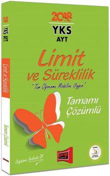 Yargı Yayınları YKS AYT Limit ve Süreklilik Tamamı Çözümlü Soru Bankası