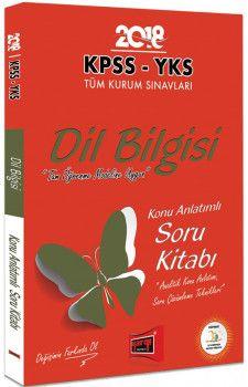 Yargı Yayınları 2018 KPSS YKS Tüm Kurum Sınavları İçinDil Bilgisi Konu Anlatımlı Soru Kitabı
