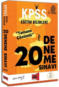 Yargı Yayınları KPSS Eğitim Bilimleri İz Serisi Tamamı Çözümlü 20 Deneme Sınavı