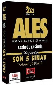Yargı Yayınları 2021 ALES VIP Tamamı Çözümlü Fasikül Fasikül Son 5 Sınav Çıkmış Sorular