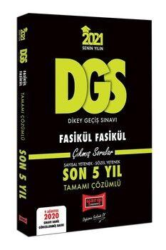 Yargı Yayınları 2021 DGS VIP Tamamı Çözümlü Fasikül Fasikül Son 5 Yıl Çıkmış Sorular