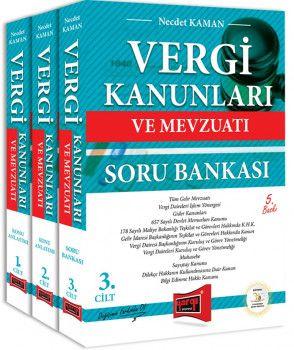 Yargı Yayınları Vergi Kanunları ve Mevzuatı Konu Anlatımı ve Soru Bankası 3 Kitap 5. Baskı