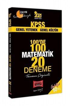 Yargı Yayınları 2021 KPSS Matematik 100 de 100 Tamamı Çözümlü 20 Deneme