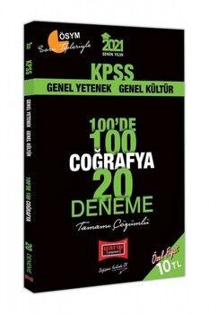 Yargı Yayınları 2021 KPSS Coğrafya 100 de 100 Tamamı Çözümlü 20 Deneme