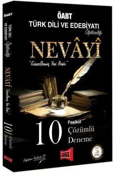 Yargı Yayınları ÖABT NEVAYİ Türk Dili ve Edebiyatı Öğretmenliği 10 Fasikül Çözümlü Deneme