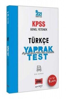 Yargı Yayınları 2021 KPSS Genel Yetenek Türkçe Çek Kopart Yaprak Test