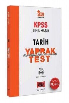 Yargı Yayınları 2021 KPSS Genel Kültür Tarih Çek Kopart Yaprak Test