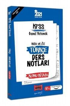 Yargı Yayınları 2021 KPSS Türkçe Kısa ve Öz Ders Notları