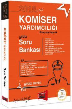 Yargı Yayınları 2018 Komiser Yardımcılığı Sınavlarına Hazırlık Yıldız Soru Bankası 4. Baskı