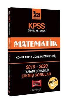 Yargı Yayınları 2021 KPSS Matematik Konularına Göre Düzenlenmiş Tamamı Çözümlü Çıkmış Sorular