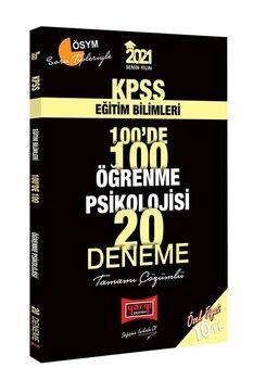 Yargı Yayınları 2021 KPSS Eğitim Bilimleri Öğrenme Psikolojisi 100 de 100 Tamamı Çözümlü 20 Deneme