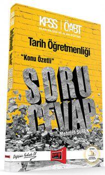 Yargı Yayınları ÖABT Tarih Öğretmenliği Konu Özetli Soru Cevap Kitabı