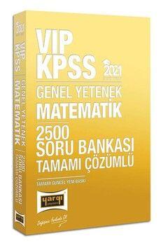 Yargı Yayınları 2021 KPSS Matematik VIP Tamamı Çözümlü 2500 Soru Bankası
