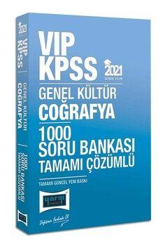 Yargı Yayınları 2021 KPSS Coğrafya VIP Tamamı Çözümlü 1000 Soru Bankası