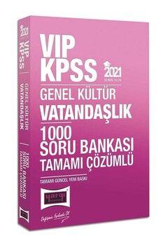 Yargı Yayınları 2021 KPSS Vatandaşlık VIP Tamamı Çözümlü 1000 Soru Bankası