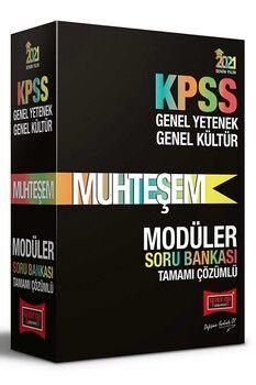 Yargı Yayınları 2021 KPSS Genel Yetenek Genel Kültür Muhteşem Tamamı Çözümlü Modüler Soru Bankası Seti