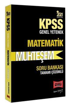 Yargı Yayınları 2021 KPSS Matematik Muhteşem Tamamı Çözümlü Soru Bankası