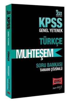 Yargı Yayınları 2021 KPSS Türkçe Muhteşem Tamamı Çözümlü Soru Bankası