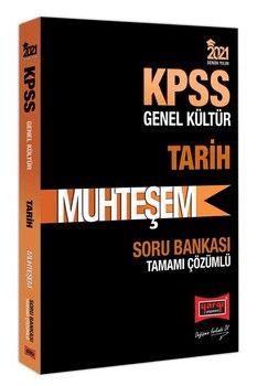 Yargı Yayınları 2021 KPSS Tarih Muhteşem Tamamı Çözümlü Soru Bankası
