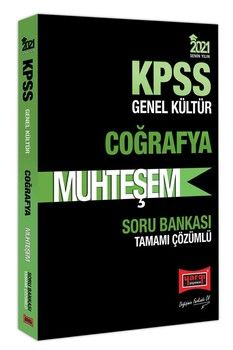 Yargı Yayınları 2021 KPSS Coğrafya Muhteşem Tamamı Çözümlü Soru Bankası