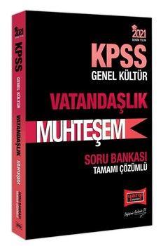 Yargı Yayınları 2021 KPSS Vatandaşlık Muhteşem Tamamı Çözümlü Soru Bankası