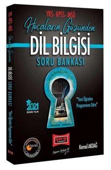 Yargı Yayınları 2021 YKS KPSS MSÜ Dil Bilgisi Hocaların Gözünden Soru Bankası