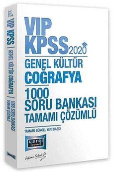 Yargı Yayınları 2020 KPSS Coğrafya VIP Tamamı Çözümlü 1000 Soru Bankası