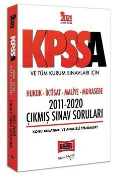 Yargı Yayınları 2021 KPSS A Grubu ve Tüm Kurum Sınavları İçin Hukuk İktisat Maliye Muhasebe 2011 2020 Çıkmış Sınav Soruları