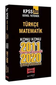 Yargı Yayınları 2021 KPSS Genel Yetenek Konu Konu Tamamı Çözümlü Çıkmış Sorular
