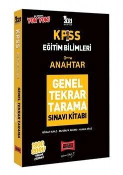 Yargı Yayınları 2021 KPSS Eğitim Bilimleri Anahtar Genel Tekrar Tarama Tamamı Çözümlü 1800 Soru Kitabı