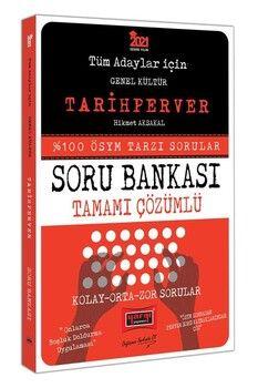 Yargı Yayınları 2021 Tüm Adaylar İçin TARİHPERVER Tamamı Çözümlü Soru Bankası