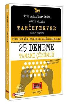 Yargı Yayınları 2021 Tüm Adaylar İçin TARİHPERVER Tamamı Çözümlü 25 Deneme