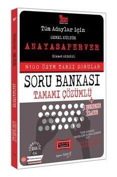 Yargı Yayınları 2021 Tüm Adaylar İçin ANAYASAPERVER Tamamı Çözümlü Soru Bankası