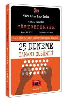 Yargı Yayınları 2021 Tüm Adaylar İçin TÜRKÇEPERVER Tamamı Çözümlü 25 Deneme