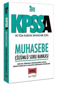 Yargı Yayınları 2021 KPSS A Grubu ve Tüm Kurum Sınavları İçin Muhasebe Çözümlü Soru Bankası