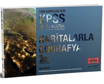 Yargı Yayınları 2021 KPSS Haritalarla Coğrafya