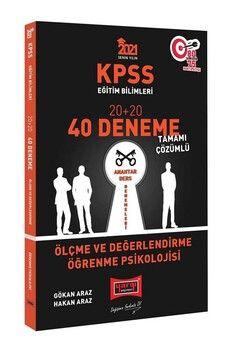 Yargı Yayınları 2021 KPSS Eğitim Bilimleri Ölçme ve Değerlendirme Öğrenme Psikolojisi Tamamı Çözümlü 40 Deneme