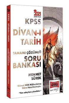 Yargı Yayınları 2021 KPSS Divanı Tarih Tamamı Çözümlü Soru Bankası